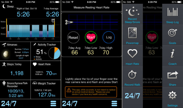 MotionX 24 / 7: iPhone App Instead of Fitness-Bracelet