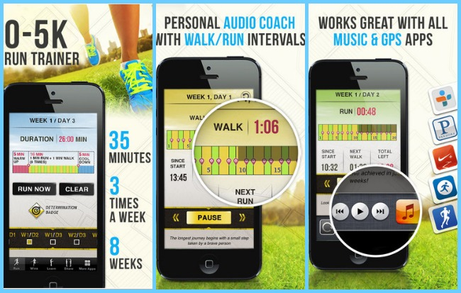Keep track of your running cats and family quantified for Couch 5k app