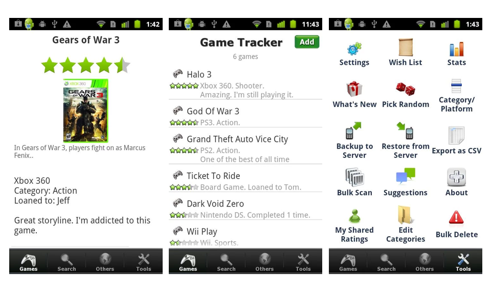 Movies, music, books and games: Apps to track your media · Exist