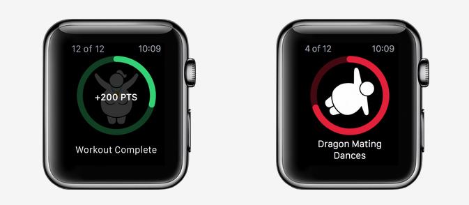 CARROT Fit Apple Watch app