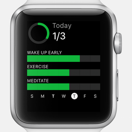Momentum Apple Watch app