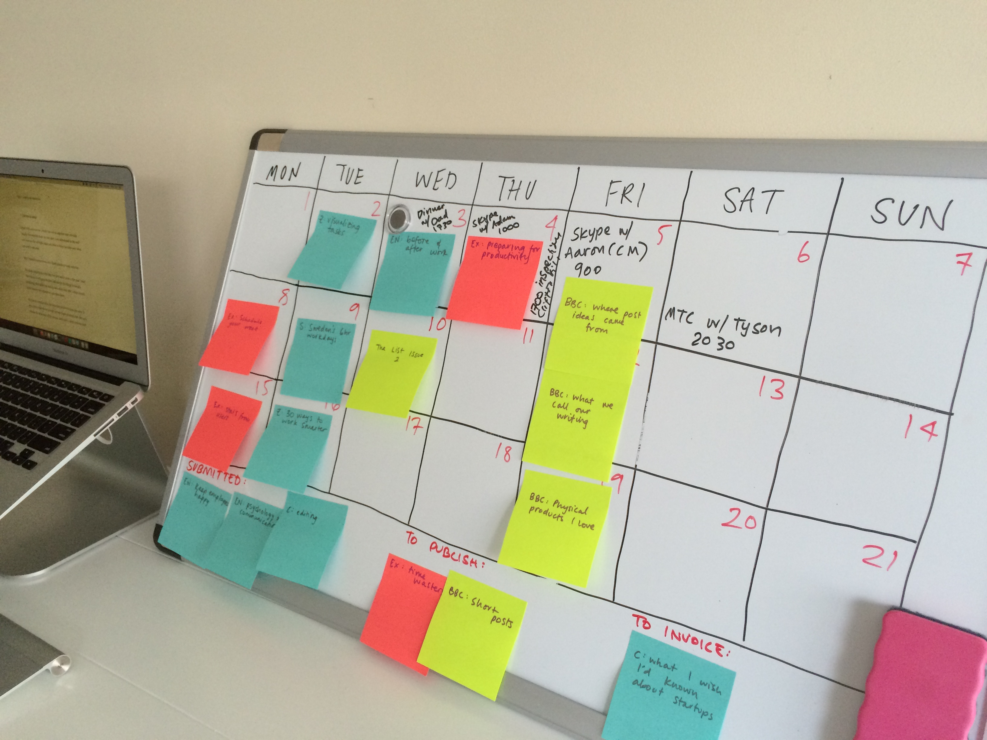 Save Time By Scheduling Your Week Exist